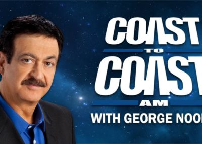 Interview on Coast to Coast AM